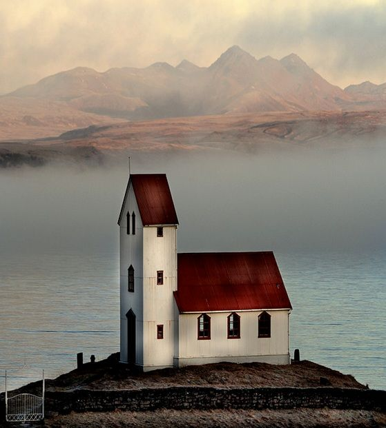 Church in Arnessysla, Iceland.