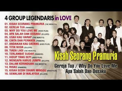 4 Group Band Legendaris In Love Youtube Buku Lagu Lagu Lagu Terbaik
