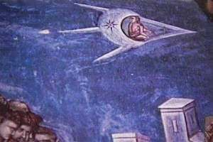 UFOs in Art ~ The Crucifixion ~ I'm not making this stuff up!