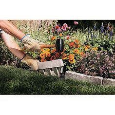 $19.53 for 10 feet of this edging at Wal-Mart, Suncast Border edging