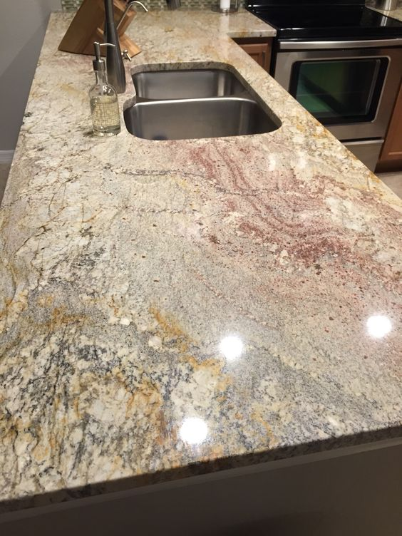 Typhoon Bordeaux Granite Countertop Options For Your Kitchen