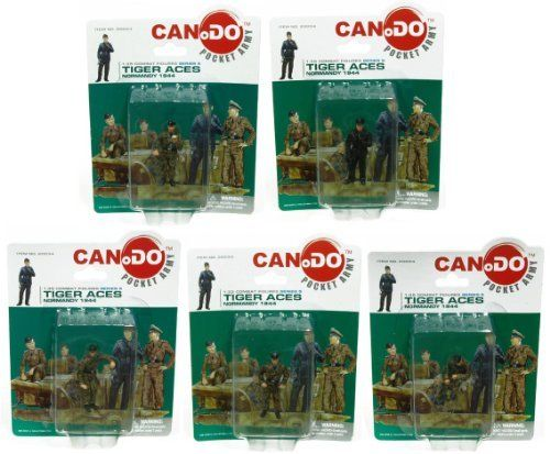 1:35 Combat Figure Series 5 Tiger Aces Normandy 1944 Set Of 5 by Dragon Models. $15.99. 12x Figure D. 12x Figure A. 11x Figure B. 12x Figure C. 2 inch scale figures. Set of 4 includes: Highly detailed sculpts Intricate paint scheme Blister card packaging Ages 3+ Officially licensed Dragon Models Brand new Great for display
