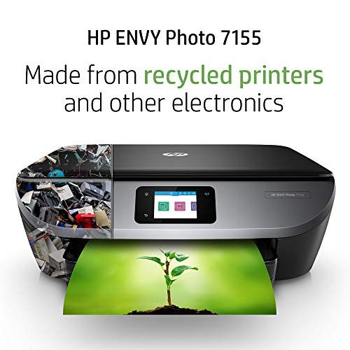 Hp Envy Photo 7155 All In One Photo Printer With Wireless Printing Hp Instant Ink Amazon Dash Replenishment Ready K7g93a Photo Printer Printer Best Photo Printer
