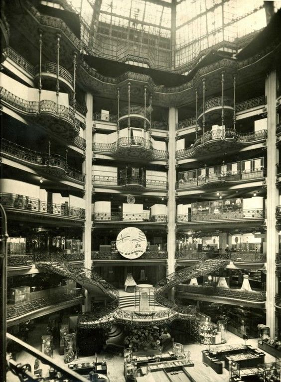 1920s, Inside Printemps Department Store, Paris: