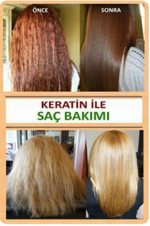 Keratin Bakimi Saclara Iyi Gelir Mi Keratin Hair Keratin Hair