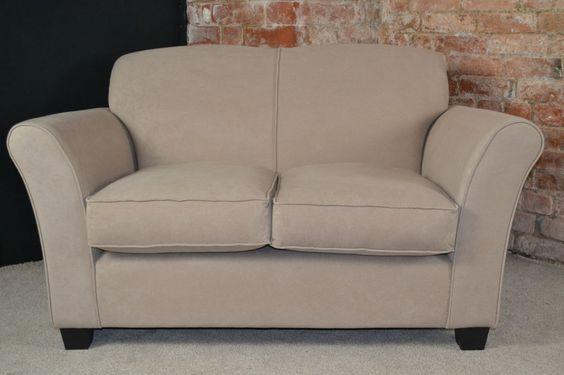 Caitlin 2 Seater Sofa - Mink / Beige - GENUINE TOP BRAND - CP467