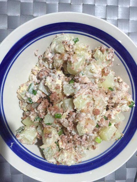 Wakdingding Resepi Salad Kentang Daging Super Sedap Salad Salad Kentang Kentang