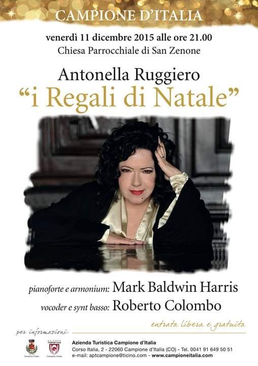 Antonella Ruggiero I Regali Di Natale.I Regali Di Natale Nel 2020 Concerto Eventi Pianoforte