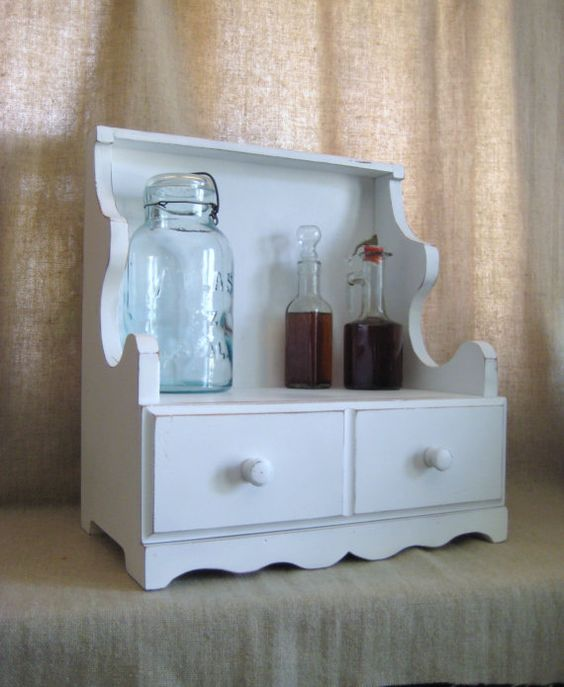 ... Countertop / Wood Cabinet for Tabletop or Countertop Storage / Display