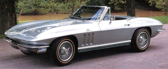 Chevrolet Corvette 427 Convertible, 1966