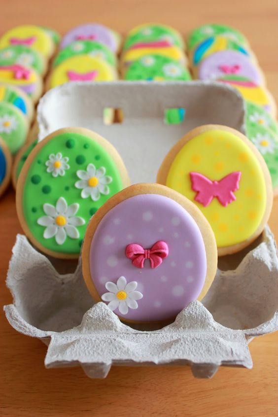 Easter Egg Cookies/ Galletas decoradas para Pascua