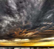 «Metallic Sunset» de Heather Prince