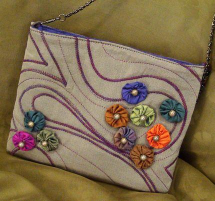 Embellishing fabric surfaces