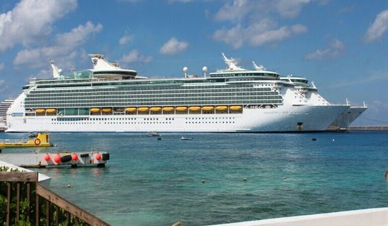 Navigator of the Seas and Freedom of the Seas in Cozumel Mexico May 2015