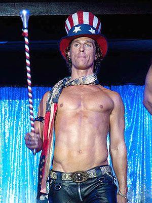 Matthew McConaughey Didn't Use a 'Stunt A––' in Magic Mike | Matthew McConaughey