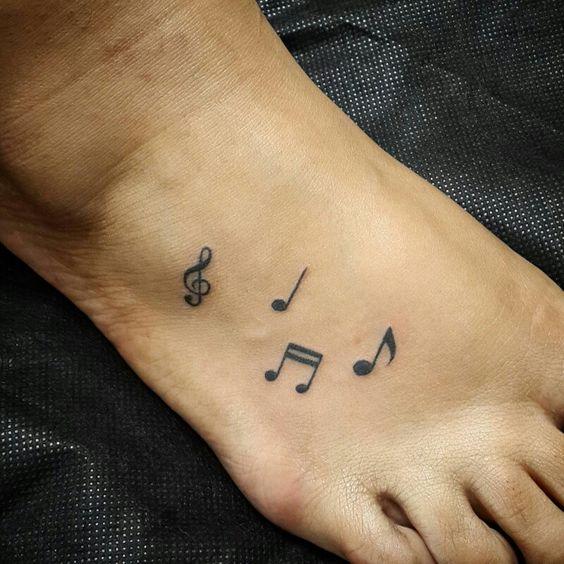Notas músicas, notes