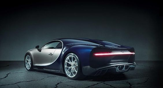 Everything about the Chiron's powertrain is super-sized. Bugatti's latest…