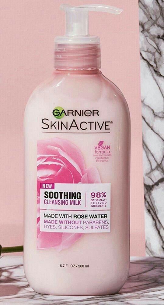 Garnier Soothing Cleansing Milk 6 00 Garnier Skin Active Body Skin Care Cleansing Milk