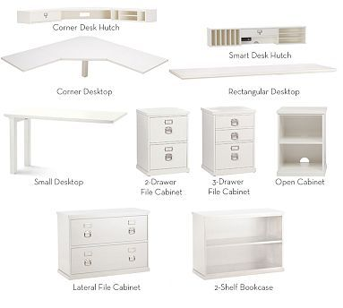 bedford build your own and home office on pinterest office desk components