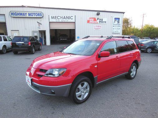 Come To Highway Motors In Chico For A Great Used Suv Like This 2004 Mitsubishi Outlander