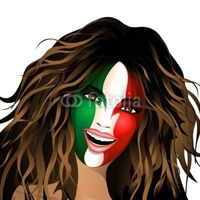New! #Italy #Flag #Happy #Girl-#Italia #Bandiera #Ragazza #Felice! #Brazil_2014 / #Brasile_2014 http://it.fotolia.com/id/66631670/partner/200929677