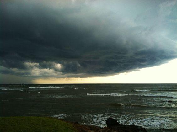 Storm at Playa El Flor