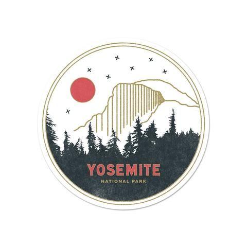 Yosemite National Park StickerNational Park Decal