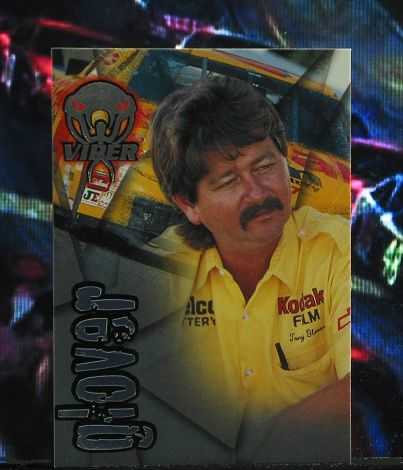 http://nascarniche.blogspot.com/  Tony Glover Crew Chief 1996 Wheels Viper Trading Card #27 Base Set Nascar