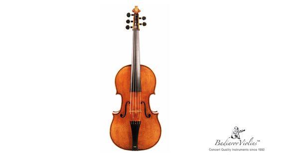 Badiarov Violins, Violoncello da spalla 2012 (front)