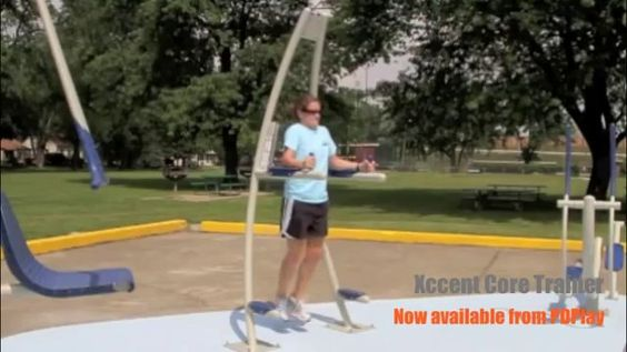 www.pdplay.com -- The Xccent Core Trainer allows for vertical leg raises, full body dips, and abdominal training. It strengthens and tones the core, torso, trunk, back, quads, abs, and glutes. All Xccent Fitness equipment is available directly from PDPlay. For more information, please visit our website or call (800) 585-3131.