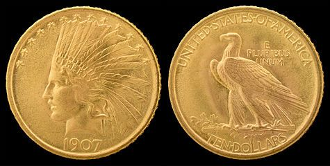 Indian Head Eagle Gold Coins Indian Head Gold American Eagle