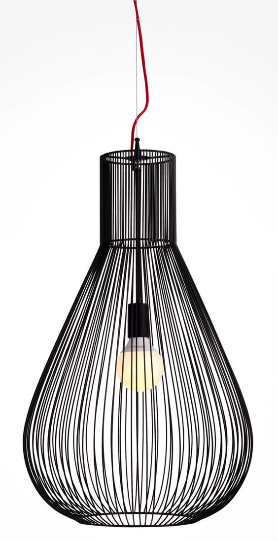 Suspension taiyo noir castorama lustre luminaire for Luminaire suspension salon