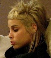 Old skool Yolandi hair