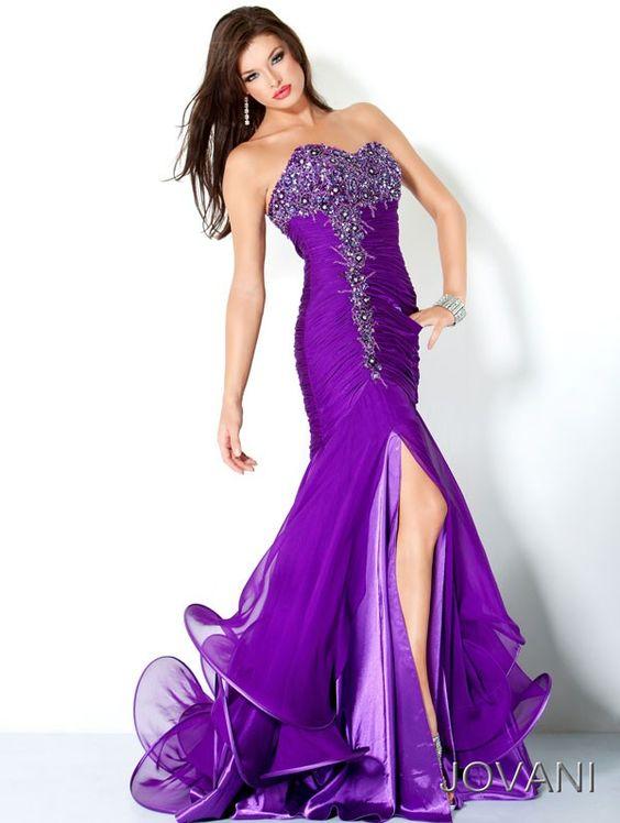 purple formal dresses for women  Beautiful Purple Prom Dresses ...