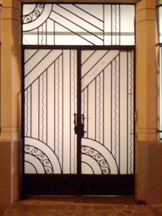 Art Deco Doors Love Art Deco Art Deco Pinterest