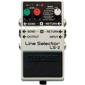 Boss LS-2 Line Selector Guitar Effects Pedal image