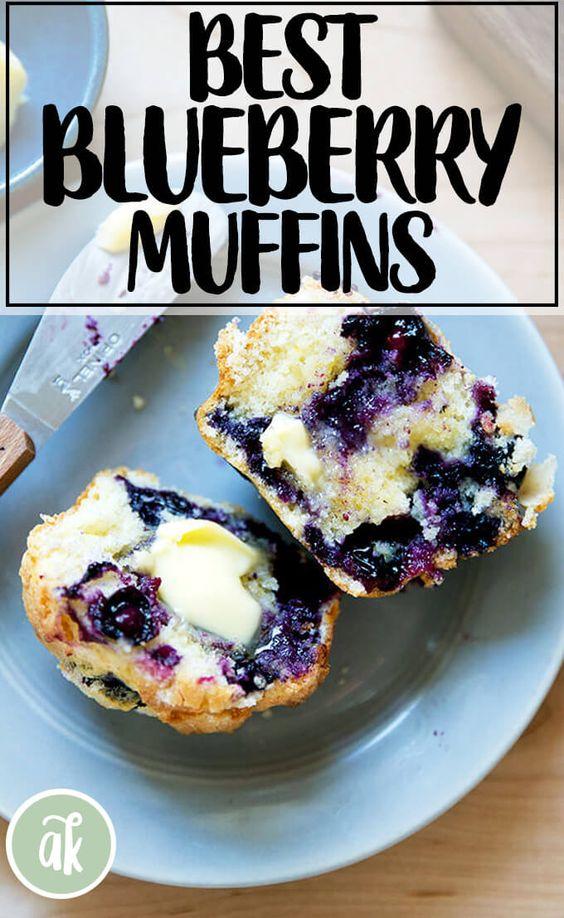 The Best Lemon-Blueberry Muffins