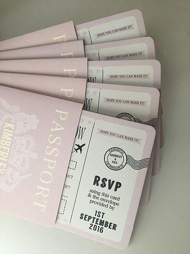 Kartu Undangan Paspor