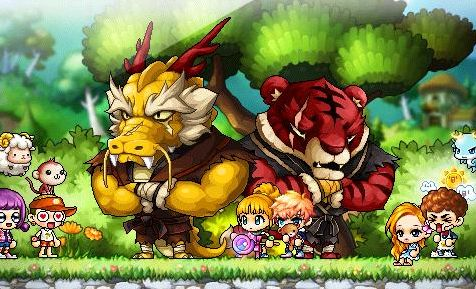 Gold Dragons Or Red Tigers
