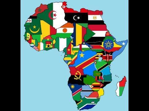 Banderas De áfrica Bandera De Africa Banderas Del Mundo Union Africana