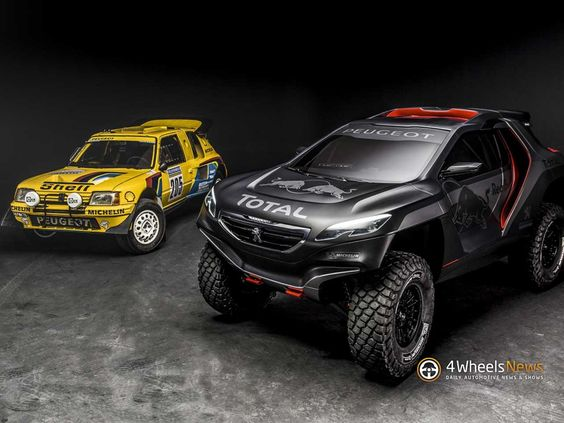 Peugeot 2008 DKR ready to conquer the 2015 Dakar Rally [w/video]  http://www.4wheelsnews.com/peugeot-2008-dkr-ready-to-conquer-the-2015-dakar-rally-w-video/