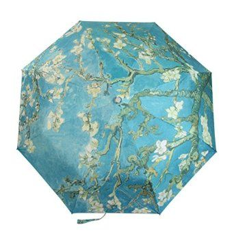 Tropical Rainforest Sun/Rain Umbrella For Women Anti-Uv Folding Parasol
