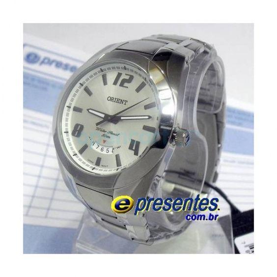 Relógio de Pulso ORIENT Masculino Analógico MBSS1121 S2SX
