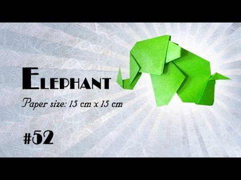 Origami elephant (satoshi kamiya) - YouTube | 360x480