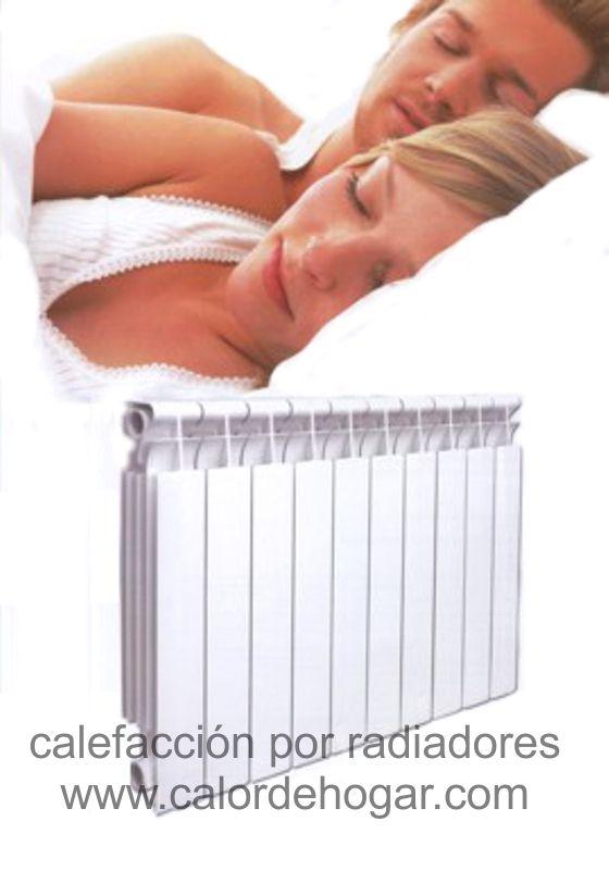 Hábitat, calefacción hidronica radiante por piso, zoclos y radiadores