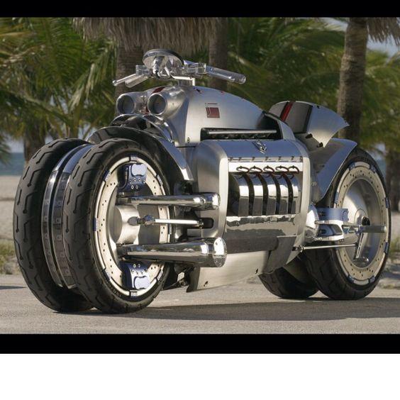 The Tomahawk...Dodge Viper engine. Enough said.