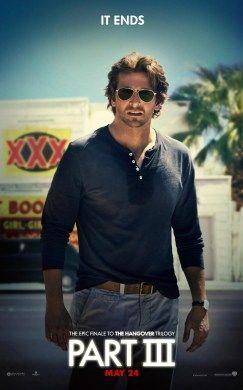 HANGOVER 3 Character Poster: Bradley Cooper als Phil #hangover3