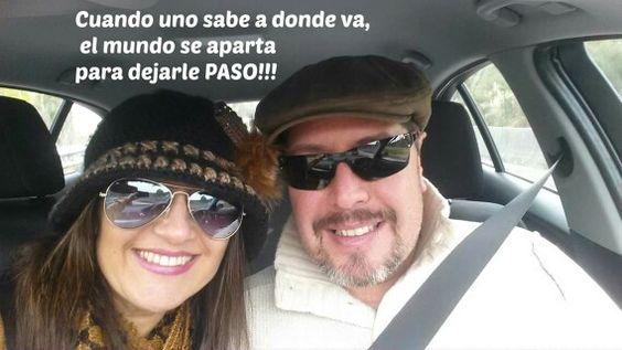 Si sabes a donde quieres ir, no pares hasta conseguirlo!!! #anabelycarlos blog.carlossanin.com