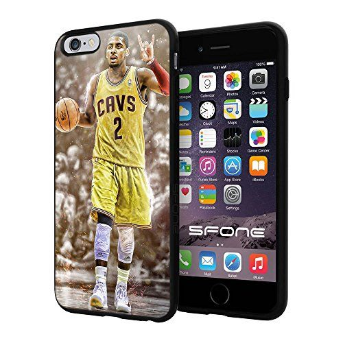 "NBA Basketball Player Kyrie Andrew Irving Cleveland Cavaliers, Cool iPhone 6 Plus (6+ , 5.5"") Smartphone Case Cover Collector iphone TPU Rubber Case Black Phoneaholic http://www.amazon.com/dp/B00WGWW7XS/ref=cm_sw_r_pi_dp_8qPpvb0SC2BJ9"