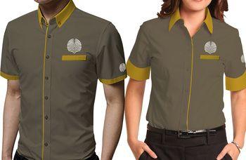 Desain Baju Seragam Kantor
